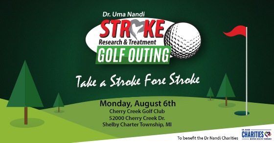 Dr. Nandi's Stroke Fore Stroke Golf Outing